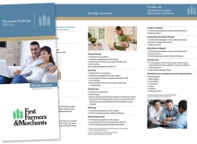 First Farmers and Merchants Trifold Brochure