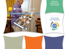Healthsense Tradeshow Display
