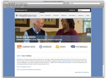 Healthsense Website