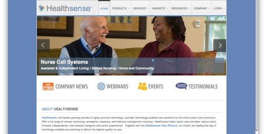 Healthsense Website